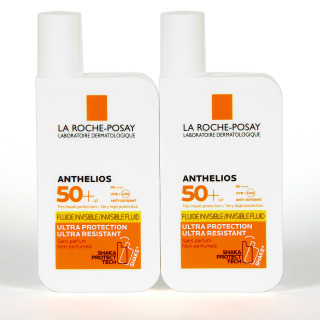 La Roche Posay Anthelios Fluido Invisible SPF50+ Duplo 2x50 ml