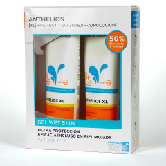 La Roche Posay Anthelios Gel Wet Skin SPF50+ Duplo 2x250 ml
