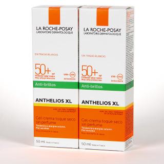 La Roche Posay Anthelios XL Anti-Brillos Toque Seco SPF 50+ Duplo 2x50 ml