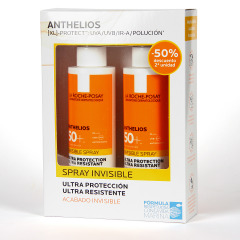La Roche Posay Anthelios XL Spray Invisible SPF50+ Duplo 2x200 ml