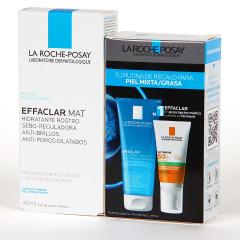 La Roche Posay Effaclar MAT 40 ml + Rutina piel mixta y grasa de Regalo