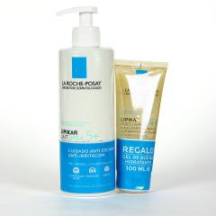 La Roche Posay Lipikar Urea 5+ Leche Corporal 400 ml + Gel de ducha hidratante 100 ml