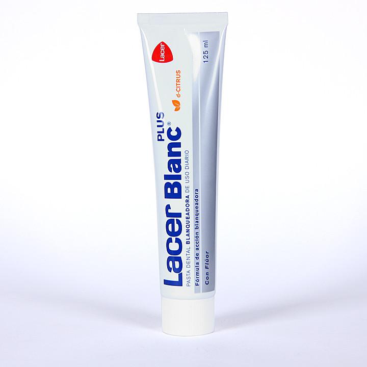 Lacer Blanc Plus pasta blanqueadora citrus 125 ml