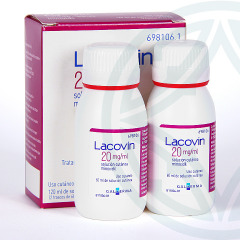 Lacovin 2% 20 mg/ml solución cutánea 120 ml
