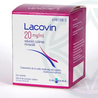 Lacovin 2% 20 mg/ml solución cutánea 240 ml