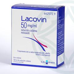 Lacovin 5% 50 mg/ml solución cutánea 120 ml