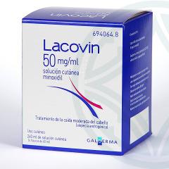 Lacovin 5% 50 mg/ml solución cutánea 240 ml