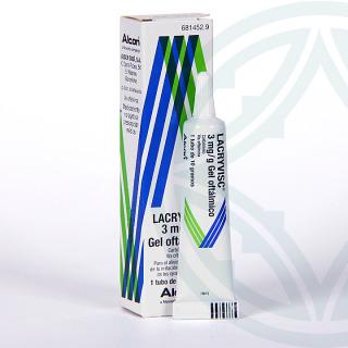 Lacryvisc gel oftálmico 10 g