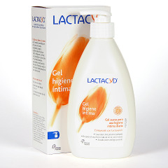 Lactacyd Gel higiene íntima diaria 400 ml