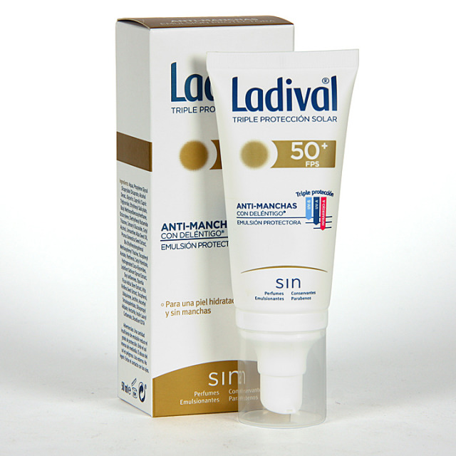 Ladival Acción Anti-manchas con Deléntigo SPF 50+ 50 ml