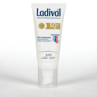 Ladival Acción Anti-manchas con Deléntigo Toque seco SPF50+ 50 ml