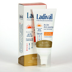Ladival Acción Anti-manchas Deléntigo Toque Seco Color SPF50+ 50 ml