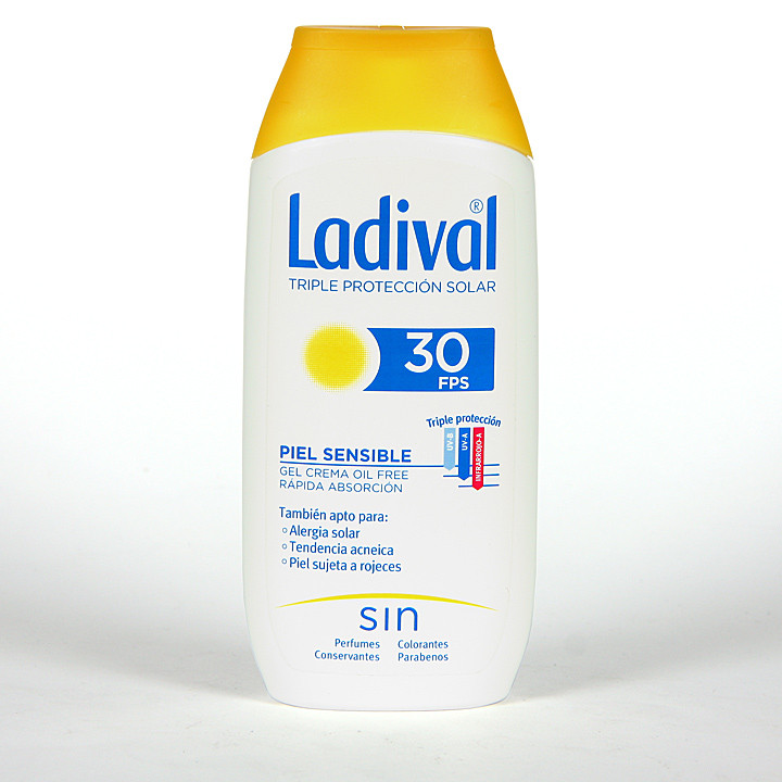 Ladival Pieles sensibles o alérgicas SPF 30 200 ml