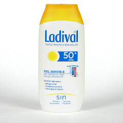 Ladival Pieles sensibles o alérgicas SPF 50+ 200 ml