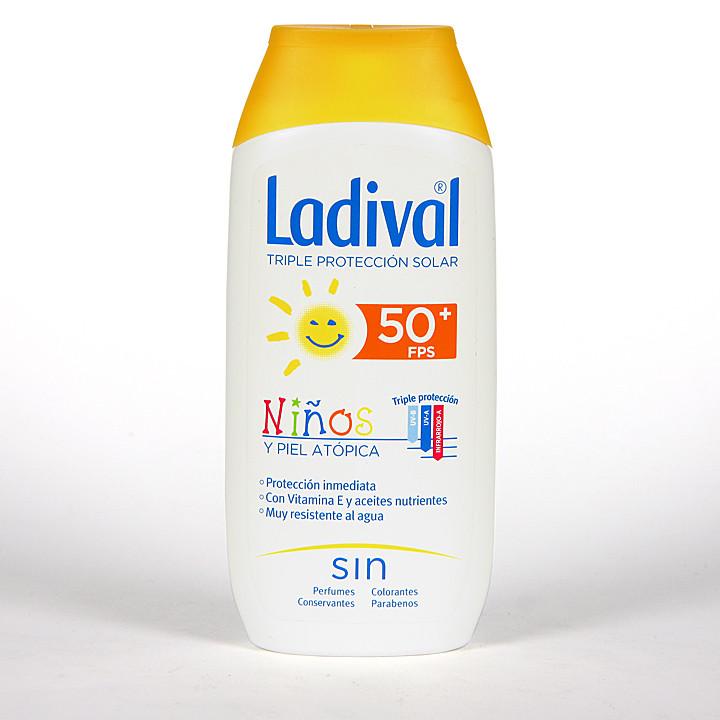 Ladival Niños y pieles atópicas SPF 50+ 200 ml