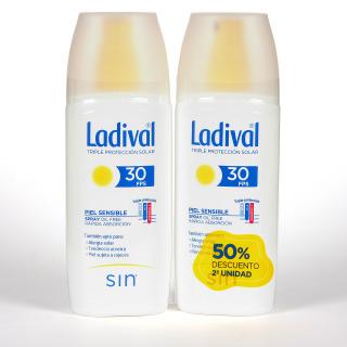 Ladival Piel Sensible Spray SPF 30 150ml Pack Duplo