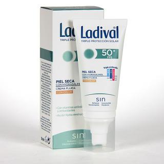 Ladival Pieles Secas Crema fluida con color SPF 50+ 50 ml