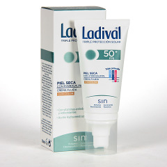 Ladival Pieles Secas Crema fluida con color SPF 50+ 50 ml