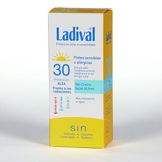 Ladival Pieles sensibles o alérgicas Gel-Crema facial SPF 30 75 ml