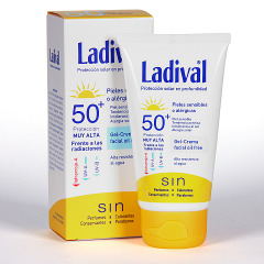 Ladival Pieles sensibles o alérgicas Gel-crema facial SPF 50+ 50 ml