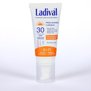 Ladival Pieles sensibles o alérgicas Gel-Crema facial con Color SPF 30 75 ml