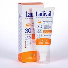 Ladival Pieles sensibles o alérgicas Gel-Crema facial con Color SPF 30 75 ml