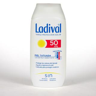 Ladival Pieles Tatuadas Loción SPF50 200 ml