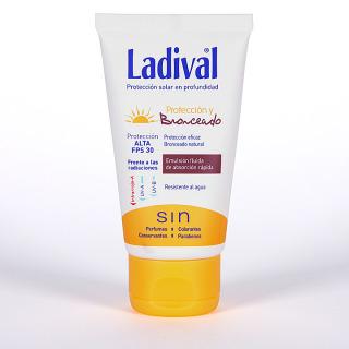 Ladival Protección y Bronceado Emulsión fluida SPF 30  75 ml