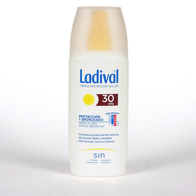 Ladival Protección y Bronceado Spray fluido SPF 30  150 ml