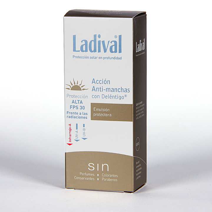 Ladival Acción Anti-manchas con Deléntigo SPF 30 50 ml