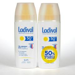 Ladival Spray Pieles sensibles o alérgicas SPF 50+ Pack ahorro 150 ml +150 ml