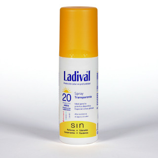 Ladival Spray Transparente SPF 20 150 ml