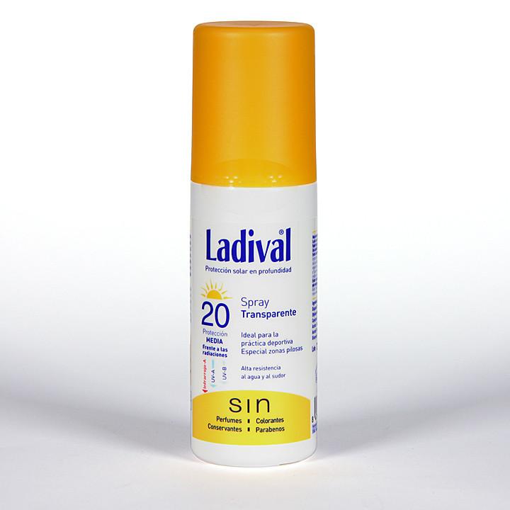 Ladival Spray Transparente SPF 20 150 ml