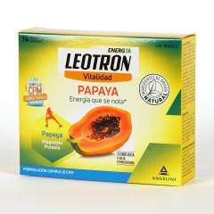 Leotron Papaya + Magnesio + Potasio 14 sobres