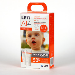 Leti AT4 Crema Facial 50 ml Pack Duplo