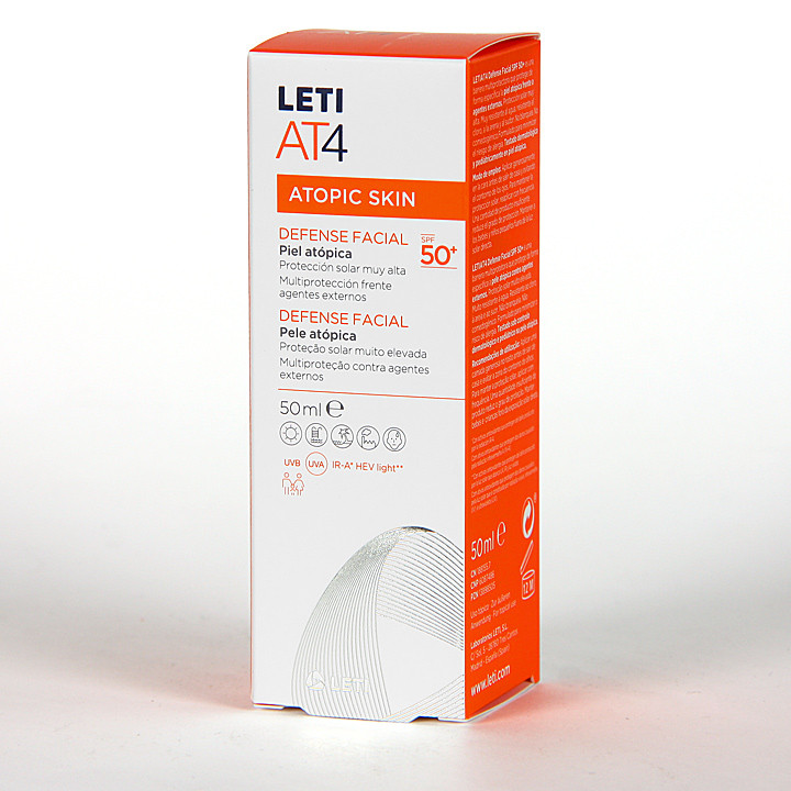 Leti AT4 Defense Facial SPF50+ 50 ml
