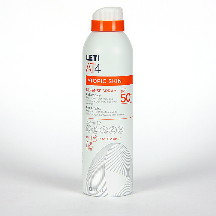 Leti AT4 Defense Spray SPF50+ 200 ml