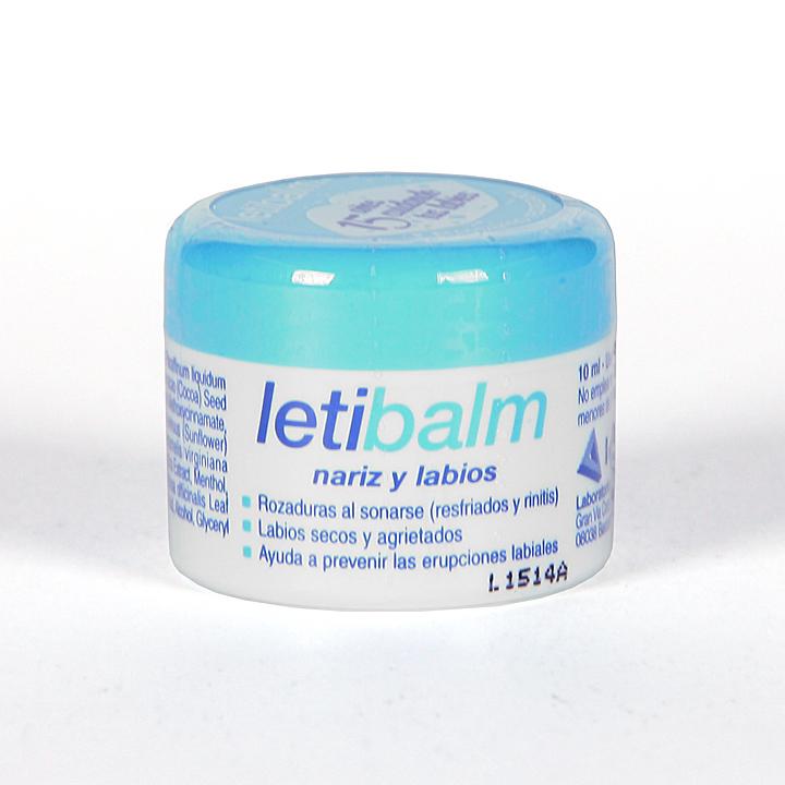 Letibalm Bálsamo Reparador nariz y labios 10 ml