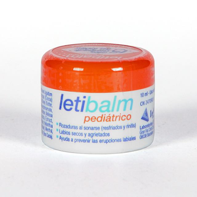 Letibalm Bálsamo Reparador pediátrico nariz y labios