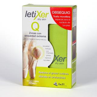 Letixer Q Zonas con Sequedad extrema 100ml + regalo toalla microfibra