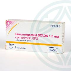 Levonorgestrel Stada EFG 1.5 mg 1 comprimido