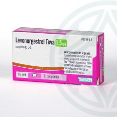Levonorgestrel Teva EFG 1.5 mg 1 comprimido
