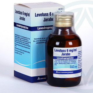 Levotuss 6mg/ml jarabe 120 ml