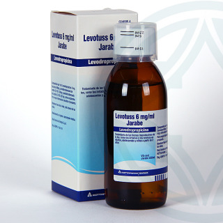 Levotuss 6mg/ml jarabe 200 ml