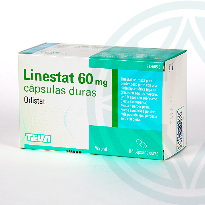 Linestat 60 mg 84 cápsulas