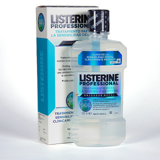 Listerine Colutorio Tratamiento Sensibilidad Dental 500 ml