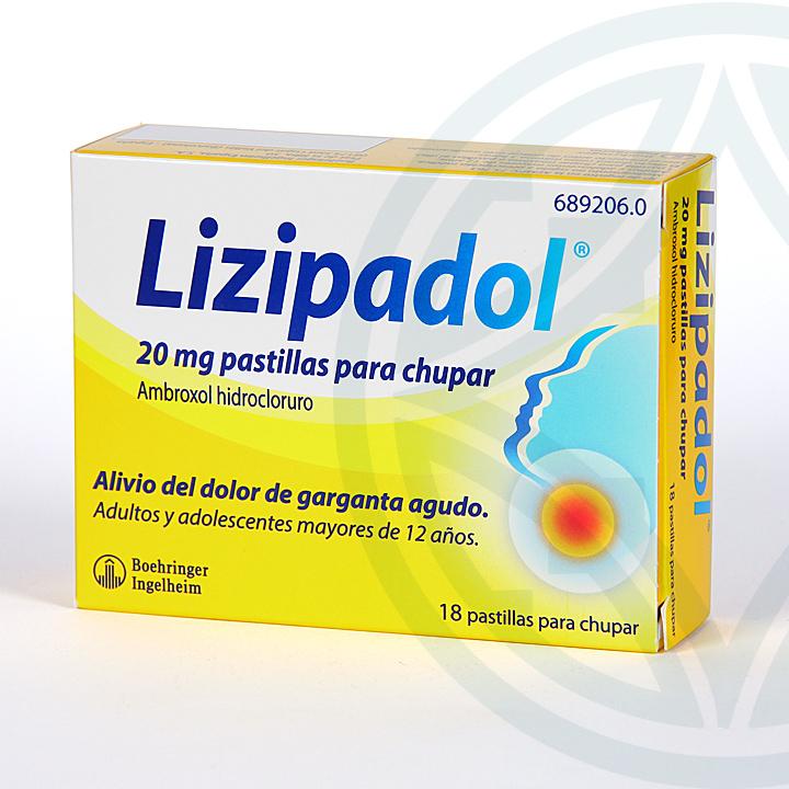 Lizipadol 20 pastillas para chupar