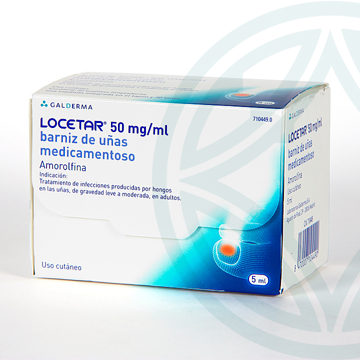 Locetar 50 mg/ml Barniz de uñas 5 ml