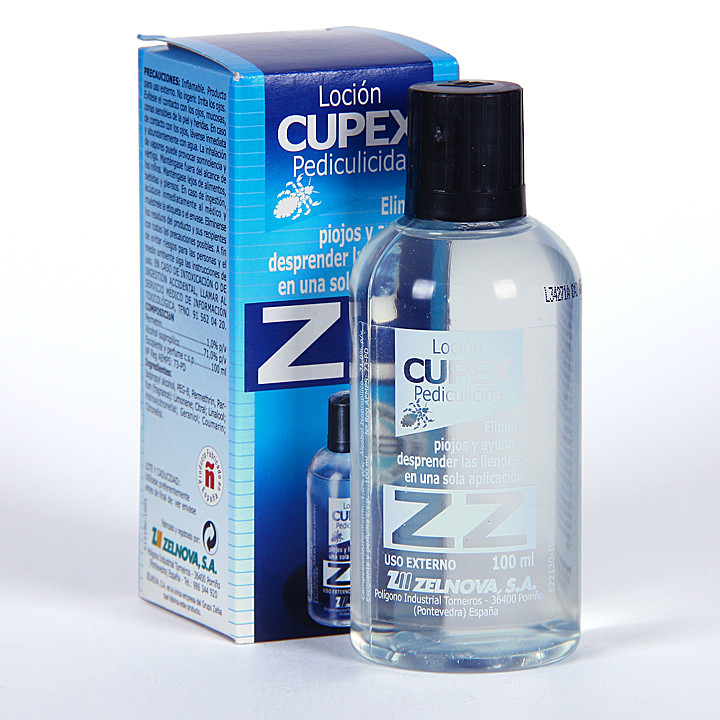 Loción ZZ Cupex Elimina Piojos 125 ml
