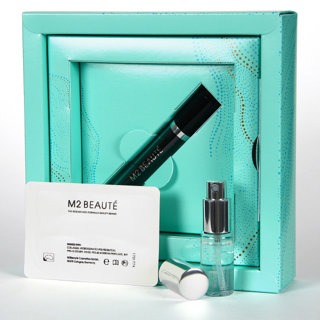 M2 Beaute Eyelash Serum Activador de Pestañas + Ultra Pure Solution Parches Contorno de ojos Regalo